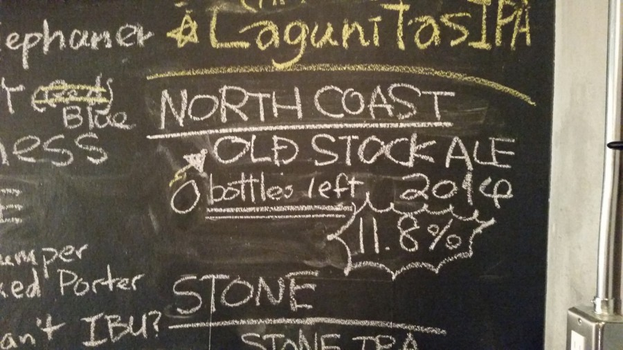 2014 North Coast Old Stock Ale 完売御礼!